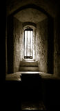 Αρχαίο παράθυρο στο παλαιό ουαλλέζικο κάστρο 1 Στοκ φωτογραφίες με δικαίωμα ελεύθερης χρήσης