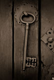αρχαίο πλήκτρο Στοκ φωτογραφία με δικαίωμα ελεύθερης χρήσης