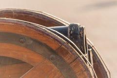 Αρχαίο πυροβόλο στη Σάρτζα στοκ φωτογραφίες