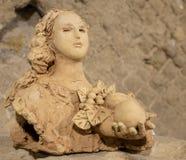 Αρχαίο ρωμαϊκό άγαλμα στοκ φωτογραφία με δικαίωμα ελεύθερης χρήσης