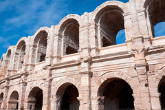 Αρχαίο ρωμαϊκό αμφιθέατρο σε Arles Στοκ φωτογραφία με δικαίωμα ελεύθερης χρήσης