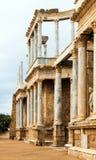 Αρχαίο ρωμαϊκό θέατρο στο Μέριντα Στοκ Φωτογραφίες