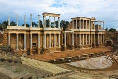 Αρχαίο ρωμαϊκό θέατρο στο Μέριντα Στοκ φωτογραφία με δικαίωμα ελεύθερης χρήσης