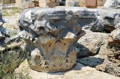 αρχαίο ρωμαϊκό antalya Τουρκία αυτοκρατοριών, perge, ειδικές ετικέττες Στοκ φωτογραφία με δικαίωμα ελεύθερης χρήσης