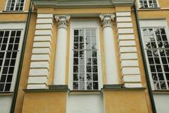Αρχαίο σπίτι παραθύρων Στοκ Εικόνες