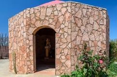 Αρχαίο σπίτι στο νησί της Κρήτης Στοκ φωτογραφία με δικαίωμα ελεύθερης χρήσης