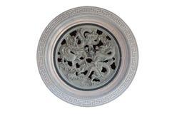 Αρχαίο σχέδιο του κινεζικού δράκου Στοκ φωτογραφία με δικαίωμα ελεύθερης χρήσης