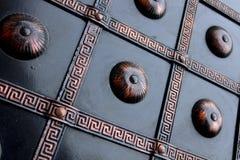 Αρχαίο σχέδιο μετάλλων στοκ εικόνα