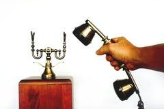αρχαίο τηλέφωνο Στοκ Φωτογραφίες