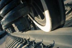 Αρχαίο τραίνο ενός NG του τετραγώνου σταθμών Στοκ φωτογραφία με δικαίωμα ελεύθερης χρήσης