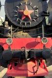 Αρχαίο τραίνο ενός NG του τετραγώνου σταθμών Στοκ εικόνες με δικαίωμα ελεύθερης χρήσης
