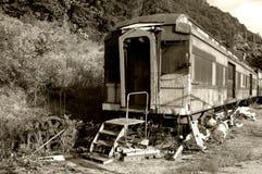 αρχαίο τραίνο Στοκ Εικόνες