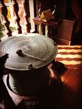 αρχαίο τύμπανο Στοκ Φωτογραφίες