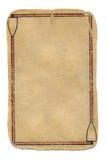 Αρχαίο υπόβαθρο εγγράφου καρτών grunge παίζοντας με δύο γραμμές Στοκ Φωτογραφίες