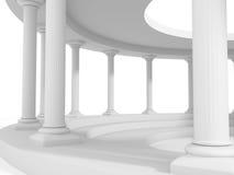Αρχαίο υπόβαθρο σχεδίου αρχιτεκτονικής στηλών ύφους ελεύθερη απεικόνιση δικαιώματος