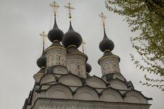 Αρχαίο υπόβαθρο του Σούζνταλ Ρωσία Ορθόδοξων Εκκλησιών Στοκ Εικόνα