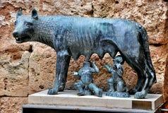Αρχαίο φρούριο μια από τις θέες Tarragona Στοκ Φωτογραφίες
