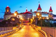 Αρχαίο φρούριο σε kamianets-Podilskyi, Ουκρανία Στοκ εικόνες με δικαίωμα ελεύθερης χρήσης