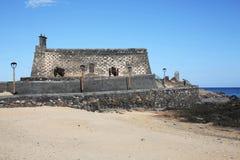 Αρχαίο φρούριο Arrecife στο νησί Lanzarote, Ισπανία Στοκ Εικόνες