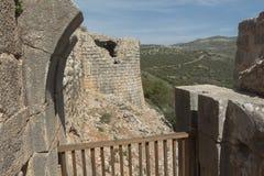 Αρχαίο φρούριο Nimrodâs στοκ εικόνες