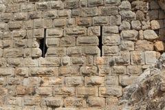 Αρχαίο φρούριο Nimrodâs στοκ εικόνα
