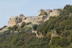 Αρχαίο φρούριο Nimrodâs στοκ φωτογραφία