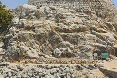 Αρχαίο φρούριο Nimrodâs στοκ φωτογραφίες με δικαίωμα ελεύθερης χρήσης