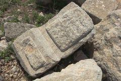 Αρχαίο φρούριο Nimrodâs στοκ φωτογραφία με δικαίωμα ελεύθερης χρήσης