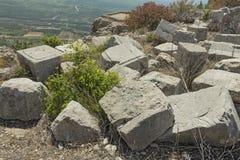 Αρχαίο φρούριο Nimrodâs στοκ εικόνες με δικαίωμα ελεύθερης χρήσης