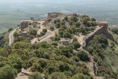 Αρχαίο φρούριο Nimrodâs στοκ εικόνα με δικαίωμα ελεύθερης χρήσης