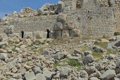 Αρχαίο φρούριο Nimrodâs στοκ φωτογραφίες