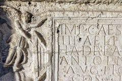Αρχαίο χειρόγραφο σε Aquincum Στοκ εικόνα με δικαίωμα ελεύθερης χρήσης