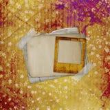 Αρχαίο χρησιμοποιημένο υπόβαθρο Grunge το ύφος Στοκ εικόνα με δικαίωμα ελεύθερης χρήσης