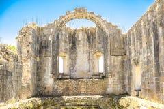 Αρχαίο 600χρονο κάστρο σε Tomar, Πορτογαλία Στοκ Εικόνες