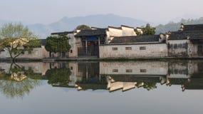 Αρχαίο χωριό στην Κίνα Στοκ εικόνα με δικαίωμα ελεύθερης χρήσης
