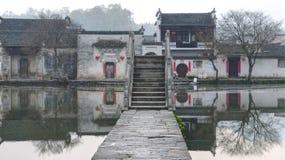 Αρχαίο χωριό στην Κίνα Στοκ φωτογραφίες με δικαίωμα ελεύθερης χρήσης