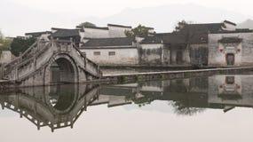 Αρχαίο χωριό στην Κίνα Στοκ Εικόνες