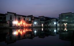 αρχαίο χωριό της Κίνας Στοκ φωτογραφίες με δικαίωμα ελεύθερης χρήσης