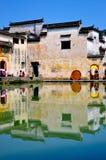 αρχαίο χωριό της Κίνας hongcun στοκ εικόνα με δικαίωμα ελεύθερης χρήσης
