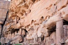 αρχαίο χωριό του Μαλί dogon της στοκ φωτογραφίες