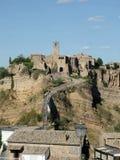 Αρχαίο χωριό Di bagnoregio Civita στοκ φωτογραφία με δικαίωμα ελεύθερης χρήσης