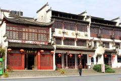 Αρχαίο χωριό Xidi, επαρχία Anhui, Κίνα της ΟΥΝΕΣΚΟ Στοκ Φωτογραφία