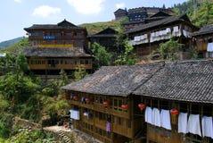 αρχαίο χωριό zhuang στοκ εικόνα