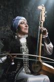 αρχαίο όργανο μουσικό Στοκ Εικόνες