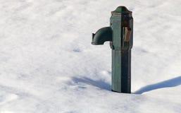 αρχαίο ύδωρ αντλιών Στοκ Φωτογραφίες