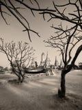 αρχαίο ύφος Ταϊλάνδη khemer wat στοκ εικόνα με δικαίωμα ελεύθερης χρήσης