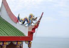 Αρχαίο ύφος της Κίνας και διακοσμητική διακόσμηση στεγών Στοκ Εικόνες