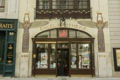 Αρχαίο apotheke στη Βιέννη, Αυστρία Στοκ φωτογραφία με δικαίωμα ελεύθερης χρήσης
