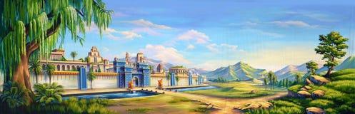 Αρχαίο Babylon διανυσματική απεικόνιση