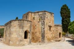 Αρχαίο Basillica. Gortyn, Κρήτη, Ελλάδα στοκ φωτογραφία